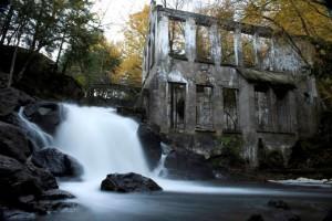 Moara abandonata Quebec, Canada