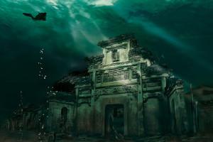Orasul scufundat, China