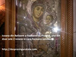 Icoana Fecioarei la Betleem