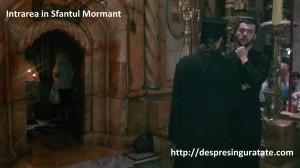 Intrarea in Sfantul Mormant
